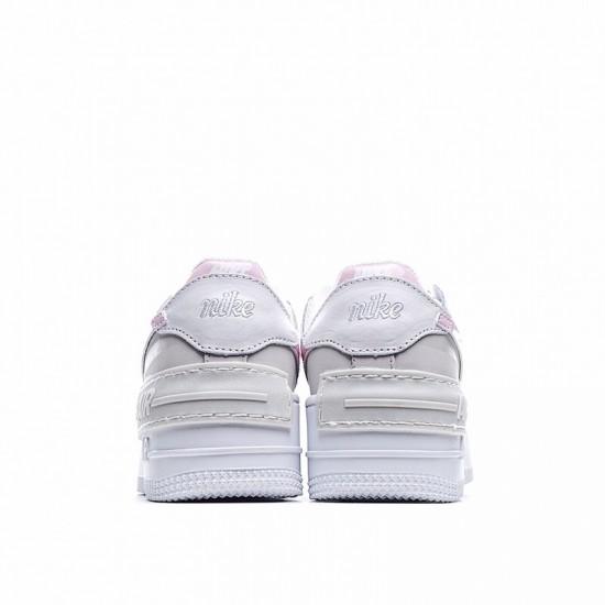 Nike Air Force 1 Shadow Grey Pink CI0919-706