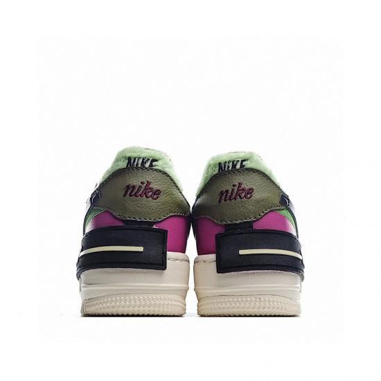 Nike Air Force 1 Shadow Cactus Flower Purple Green White CT1985-500