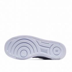 "Nike Air Force 1 Shadow ""Metallic Silver"" Silver Blue Purple CW6030-001"