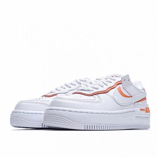 Nike Air Force 1 Shadow White Orange Cl0919-103