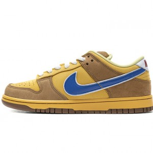 "Nike SB Dunk Low ""Newcastle Brown Ale"" Brown Yellow Blue 313170-741 40-47"