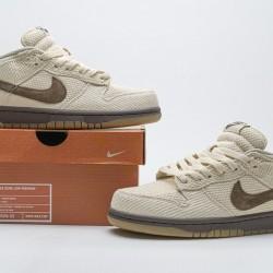 "Nike SB Dunk Low Pro ""Brown Hemp"" Brown Khaki 307696-121 40-45"