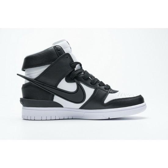 Hot Ambush x Nike SB Dunk High Black White CU7544-001 36-47 Shoes