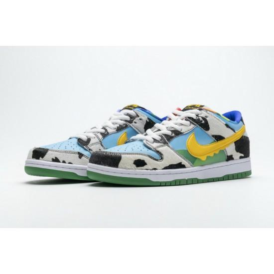 Ben Jerry x Nike SB Dunk Low Chunky Dunky White Blue CU3244-100
