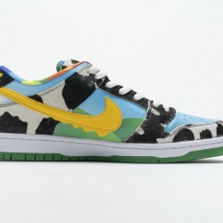 Ben Jerry x Nike SB Dunk Low Chunky Dunky White Blue CU3244-100