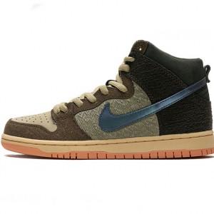 """Concepts x Nike SB Dunk High Pro QS """"Mallard"""" Black Brown DC6887-200"""