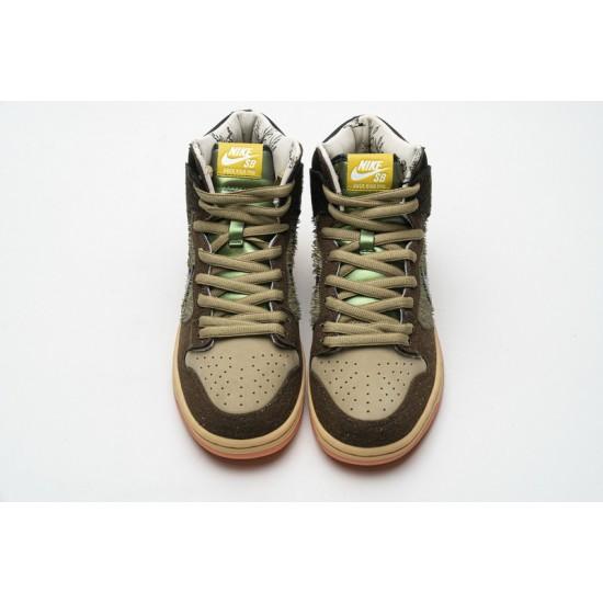 Concepts x Nike SB Dunk High Pro QS Mallard Black Brown DC6887-200