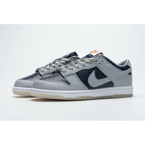 """Best Nike SB Dunk Low """"College Navy"""" Grey Blue DD1768-400 36-47 Shoes"""