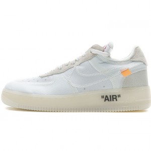 """Off-White x Nike Air Force 1 Low """"The Ten"""" White AO4606-100"""