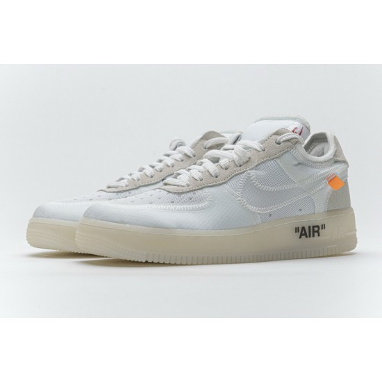 Off-White x Nike Air Force 1 Low The Ten White AO4606-100