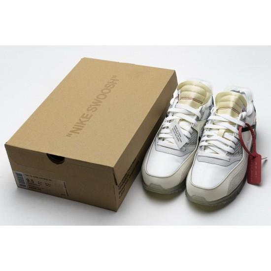 Off-White x Nike Air Max 90 The Ten All White AA7293-100