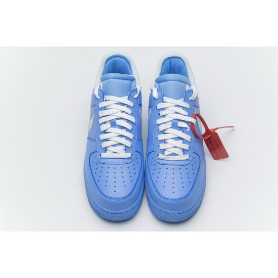 Off-White x Nike Air Force 1 07 Low MCA Blue Silver CI1173-400