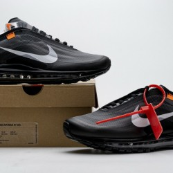 "Off-White x Nike Air Max 97 ""Black"" All Black AJ4585-001"