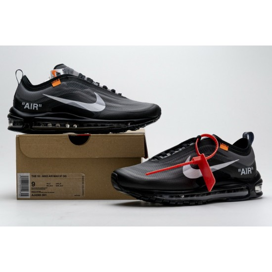 Off-White x Nike Air Max 97 Black All Black AJ4585-001