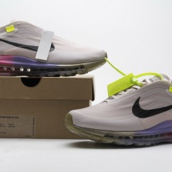 "Off-White x Nike Air Max 97 ""Queen"" Pink Purple AJ4585-600"